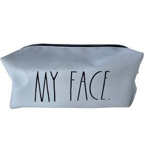 Rae Dunn My Face Cosmetic Bag Large